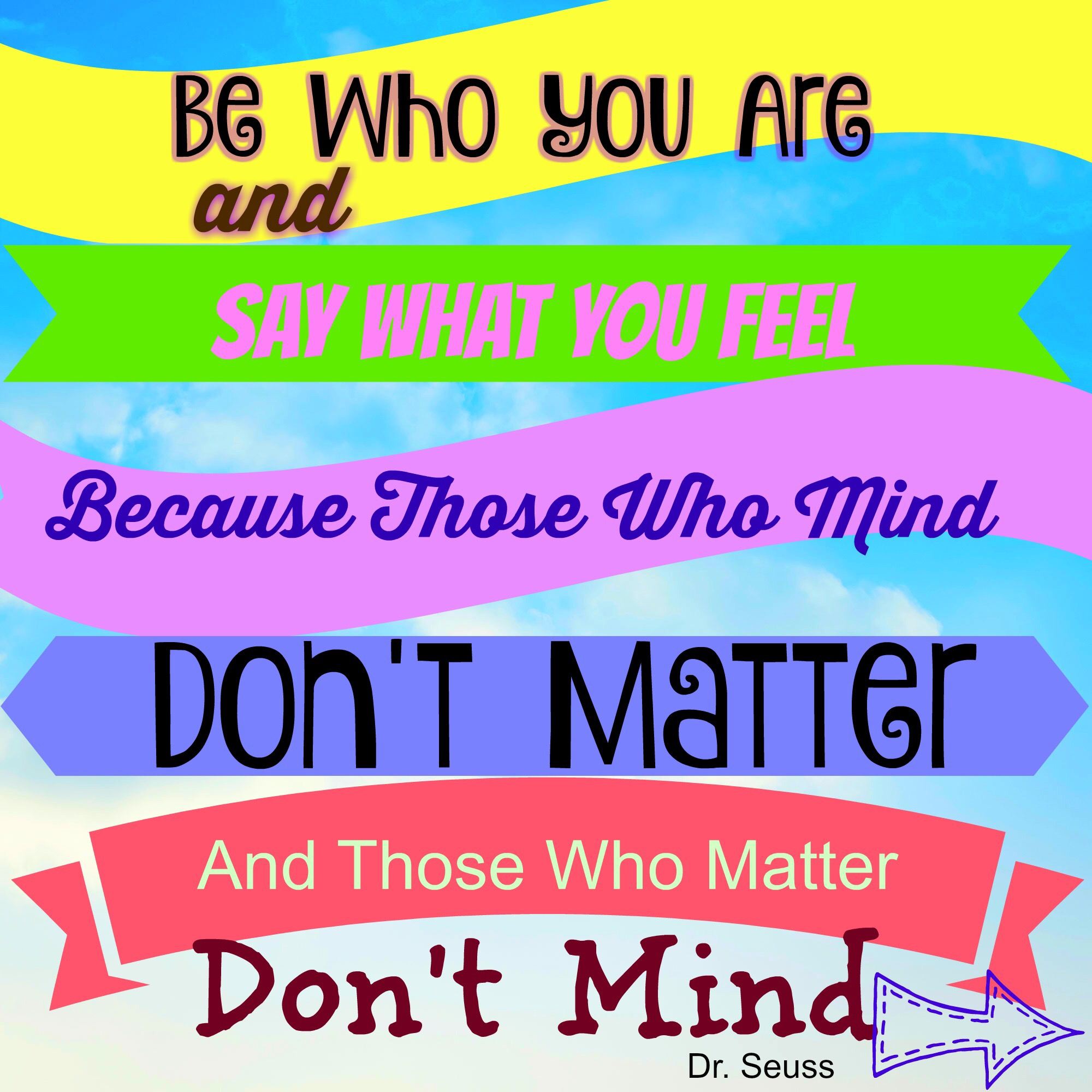 Motivational Monday Quote By Dr. Seuss